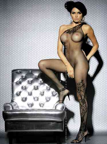 Bodystocking F203 black