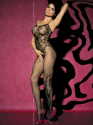 Bodystocking F205 black
