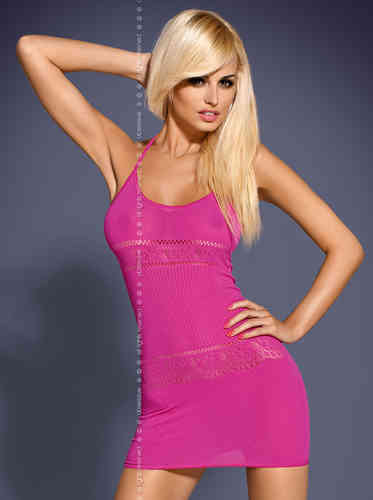 Minikleid - Dress pink D307
