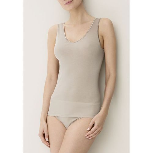 Zimmerli Cotton de Luxe Top cameo