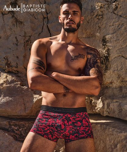 Aubade Boxershorts Red Ornament